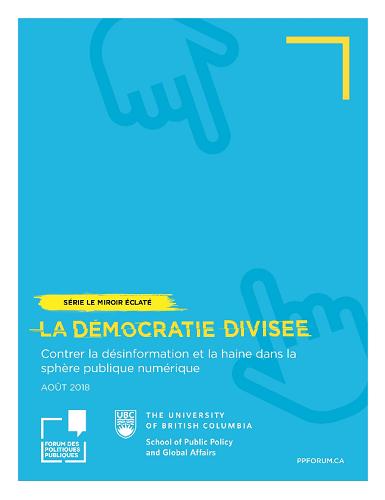 Page couverture du document La démocratie divisée.