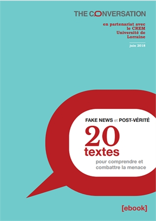 Page couverture du document Fake news et post-vérité.