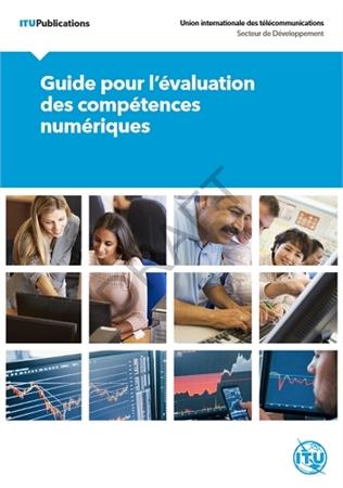 Page couverture du Guide pour l'évaluation des compétences numériques